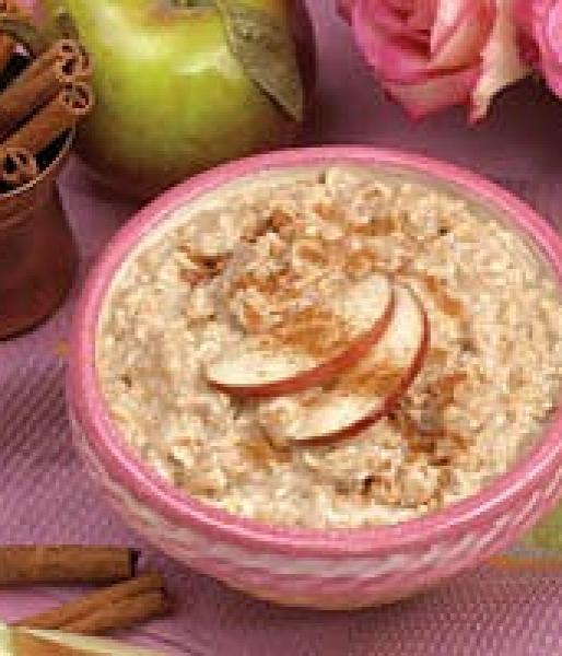 Oatmeal w/Apples and Cinnamon