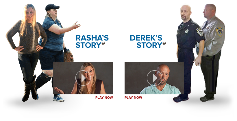 Rasha and Derek's Stories